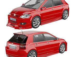 Toyota Corolla Allex 2003 3D model
