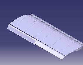 STOL CH 701 Aircraft Wing Structure 3D