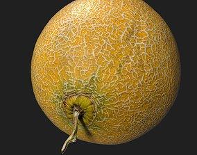 Sweet Melon 3D asset
