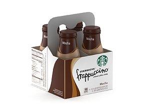 3D model Starbucks Frappuccino Coffee Beverage Bottles 4