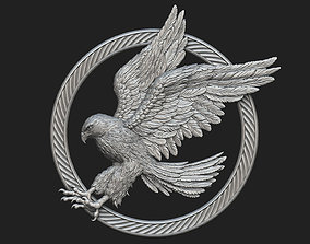 Hawk Pendant 3D printable model