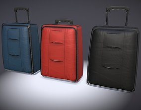 3D asset luggage 9