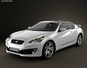 3D model Hyundai Genesis Coupe 2011