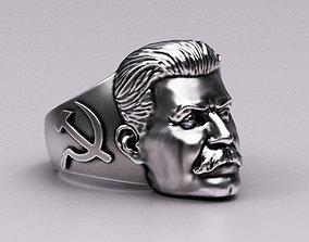3D print model Stalin ring