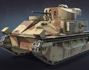 3D model Vickers Medium Mk II