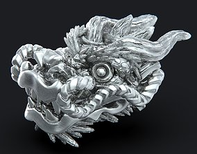 souvenir 3D printable model Dragon head