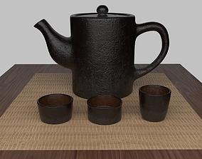 Tea Scene 3D model