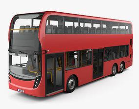 Alexander Dennis Enviro 500 D Decker Bus with 3D model 2