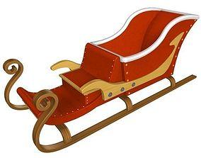 sleigh 2 3D Model