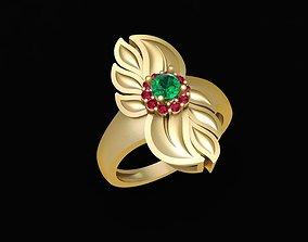 1628 Diamond ring 3D print model