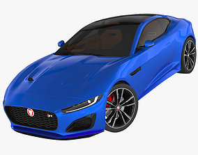 Jaguar F-Type R Coupe 2021 3D model