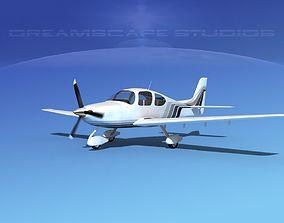 3D model Cirrus SR22 V01
