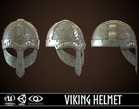 3D asset Viking Helmet 03