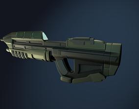 MA5B Assault Rifle 3D model
