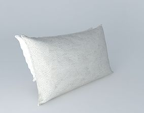 Realistic Bed Pillows 3D model