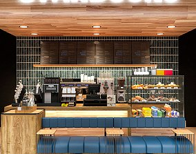 decorative Coffee Shop 3D