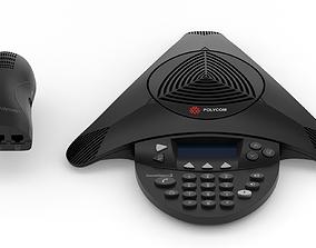 3D Polycom SoundStation2 Expandable Conference Phone