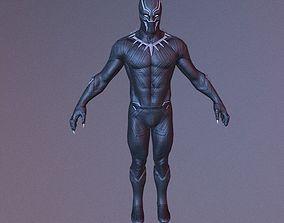 Black Panther VR Game Model rigged