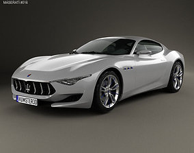 3D model Maserati Alfieri 2014