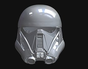 3D printable model Death Trooper Helmet scan
