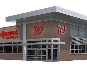 Retail-018 Walgreens 3D model