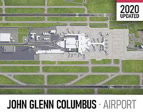 John Glenn Columbus International Airport - CMH 3D model
