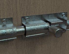 3D asset Simple Lock