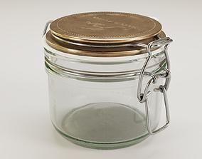 houseware Mason jar 3D model