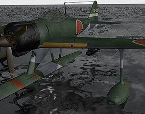 3D Nakajima A6M2-N Rufe