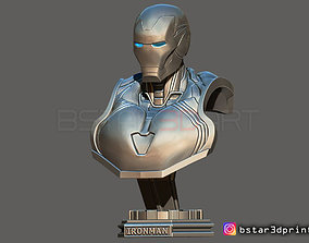 Ironman Mark 85 Bust - Infinity war - 3D printable model 3