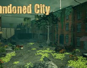 Abandoned City Unreal 3D asset
