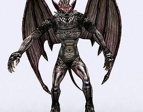 3DRT - Gargoyle Monster animated