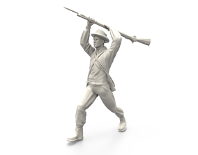 North Carolina confederate soldier 3D printable model