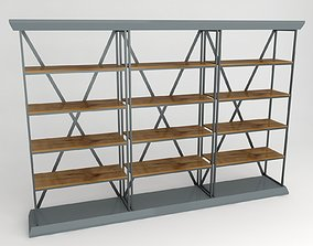 Shop Stand 3D model low-poly