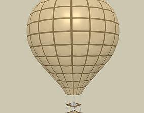 3D asset Hot Air Balloon
