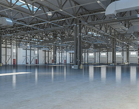 3D model Warehouse 6 interior and exterior