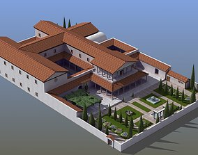 Large Luxury Villa 3D model