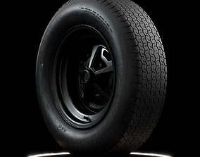 3D Dunlop CR65 600L 15 Front and Rear Tyres