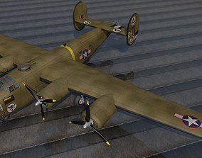 Consolidated B-24D Liberator 3D