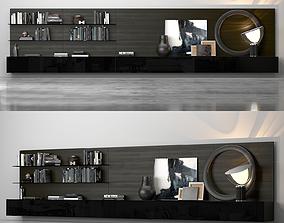 Varenna Poliform TV Display Unit 3D
