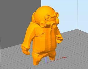 Gang Beasts hazmat 3D printable model