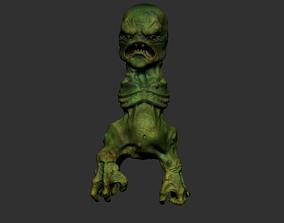3D printable model Creeper maincraft Doom version