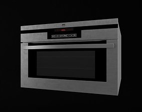 Black Microwave Oven 3D