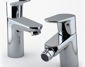 3D Hansgrohe Focus Faucets