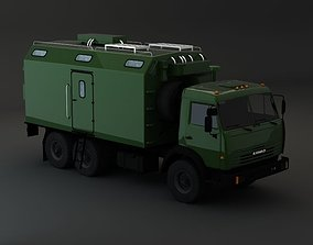 Kamaz Modify 6x4 Army M2 3D