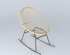 petunia chair 3D