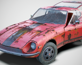 3D model Old Classic Coupe Set