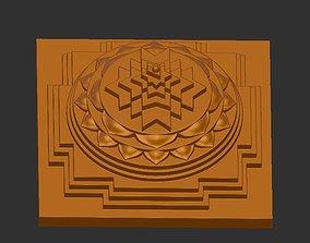 Shri yantra 3D printable model