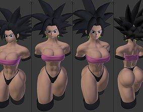 body 3D model Caulifla SEXY