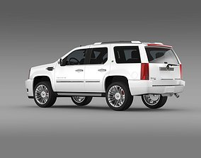 Cadillac Escalade Hybrid 2013 3D model